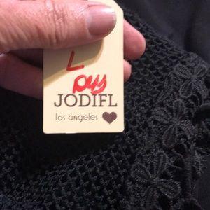 JODIFL Tops - Black sleeveless top